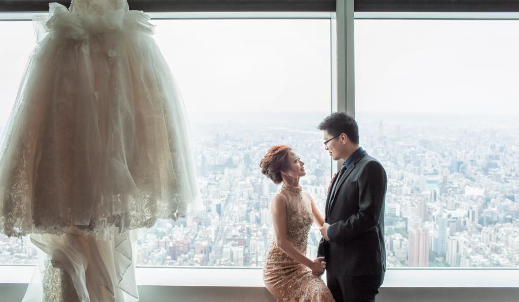 欣葉101 85樓婚禮-24