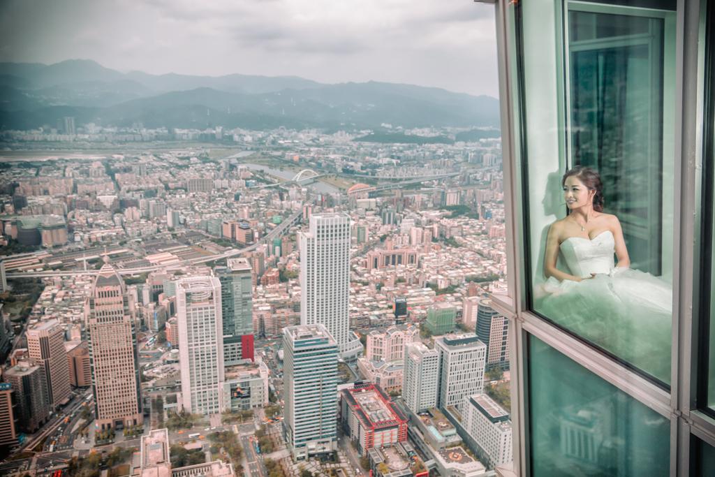 欣葉101 85樓婚禮-32