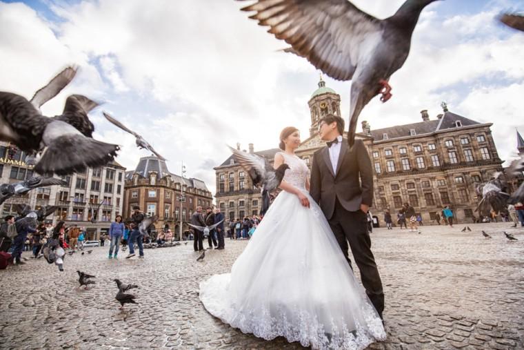 荷蘭-歐洲-婚紗-自助婚紗-婚禮紀錄-台灣-黑焦耳-推薦-1