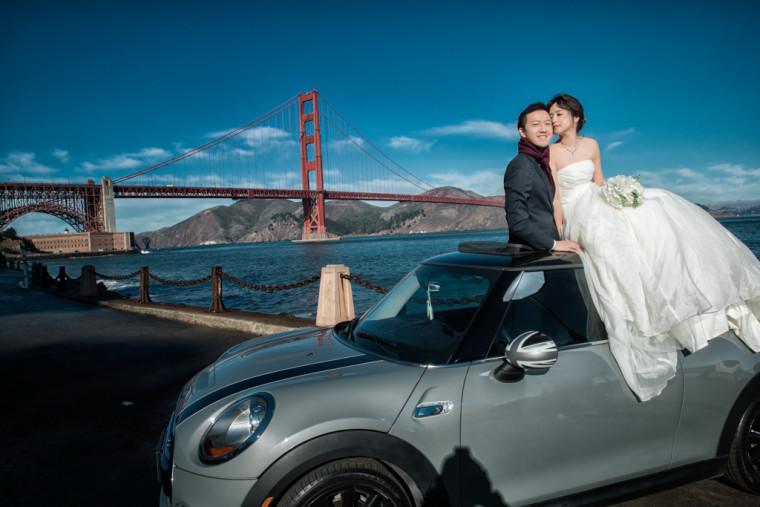 舊金山婚紗 San Francisco - 聖荷西婚紗 San Jose-自助婚紗-海外婚紗-推薦-黑焦耳-2